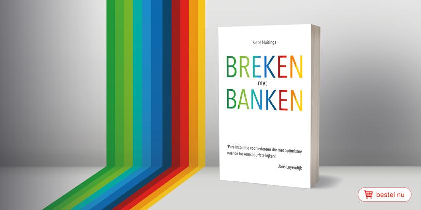 Uitgeverij Kompas, bunq, breken-met-banken boek