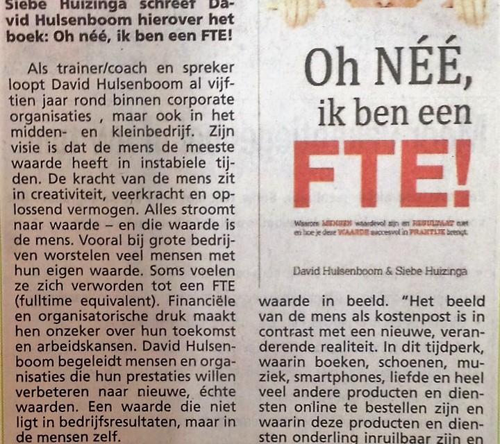 David Hulsenboom - Oh nee, ik ben een FTE